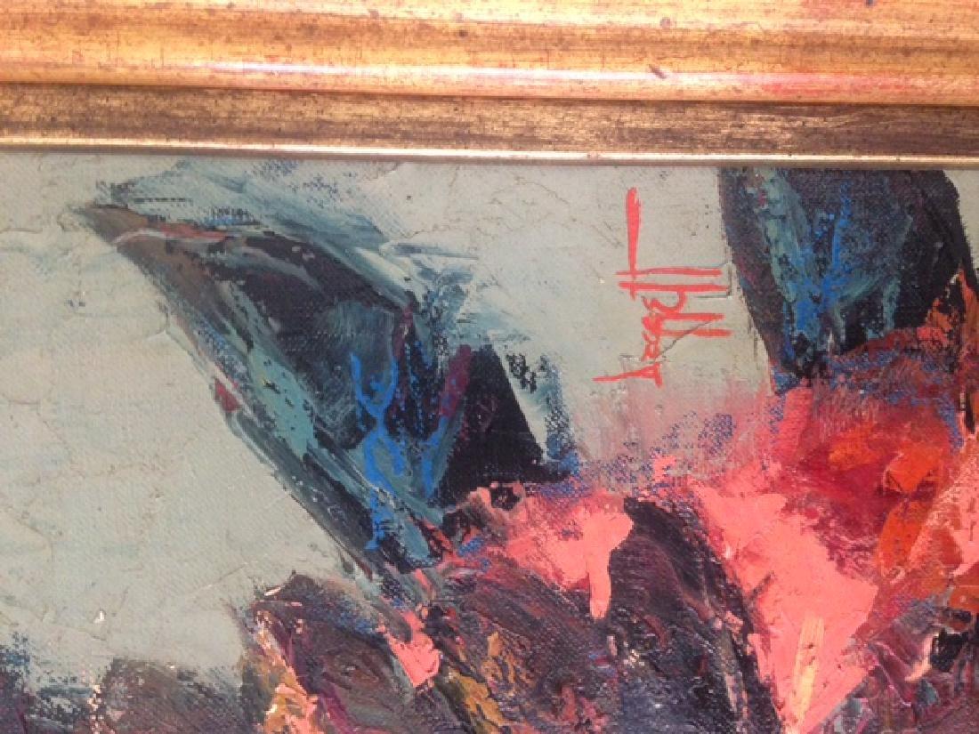 Noel Daggett, Sioux War Dance, Oil Painting - 2