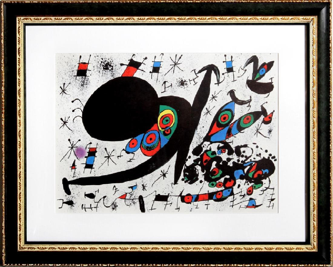 Joan Miro, Homenatge a Joan Prats from Indelible Miro,
