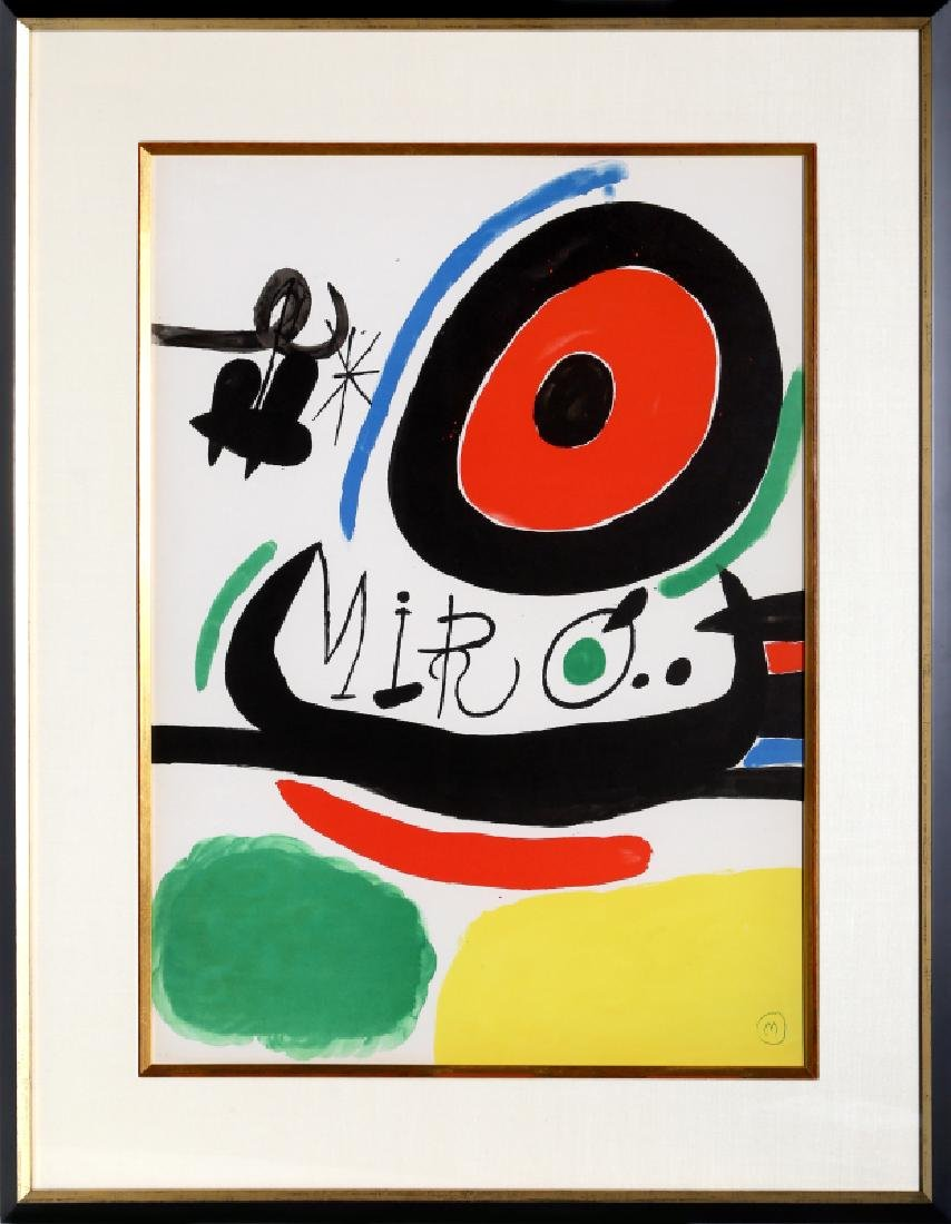 Joan Miro, Osaka Exhibition (M. 680), Lithograph