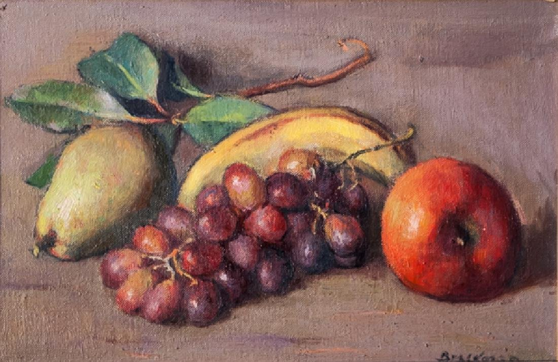 Robert Brackman, Still Life with Mixed Fruit, Oil