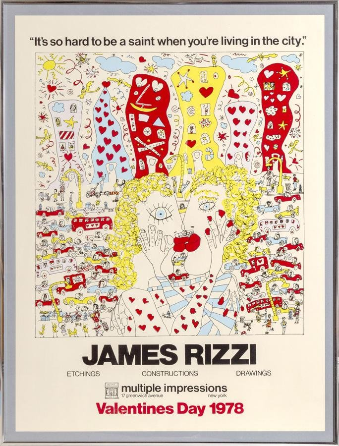 James Rizzi, It's So Hard to be a Saint When You're