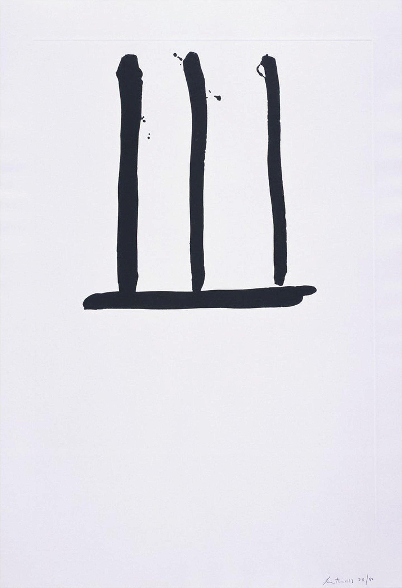 Robert Motherwell, Untitled, Lift-Ground Aquatint