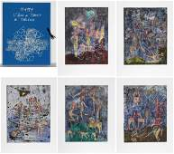 Roberto Matta LAme du Tarot de Theleme Portfolio of