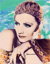 Rupert Jasen Smith, Greta Garbo No. 4, Acrylic and
