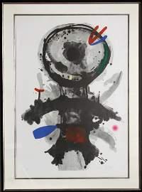 Joan Miro, L'Ange de Crible, Aquatint