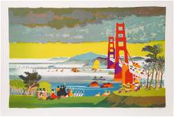 Dong Kingman, San Francisco, Golden Gate Bridge,