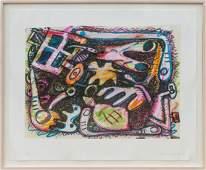 Elizabeth Murray, Untitled, PIgmented Digital Print