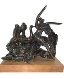 Reuben Nakian, Leda and the Swan II, Bronze Sculpture