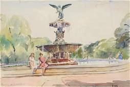Elizabeth Gutman Kaye, Fountain in Central Park,
