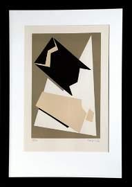 Alberto Magnelli, Composition, Lithograph