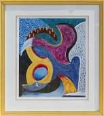 Cubist Composition, Poster