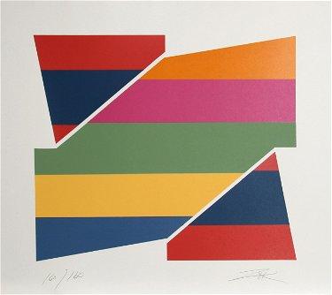Larry Zox, Rotation I, Silkscreen
