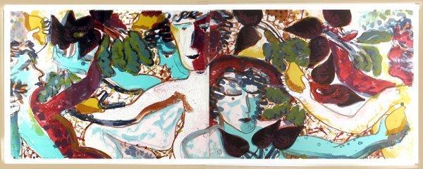 12: Robert Kushner, Cupids Making Borscht, Lithographs