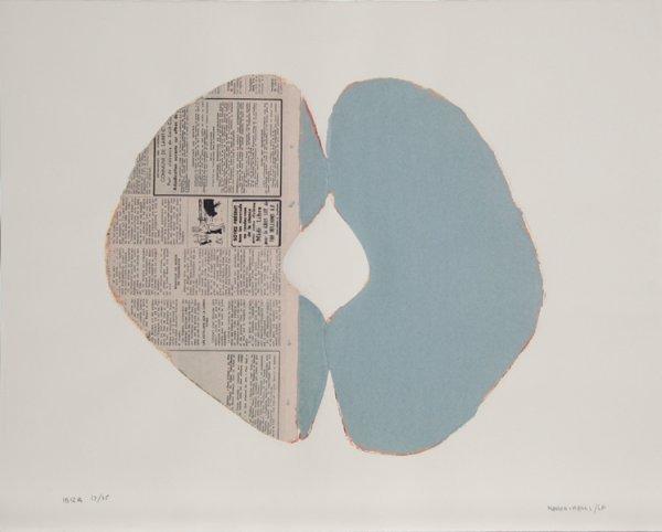 13: Conrad Marca-Relli, Ibiza II, Collage Multiple