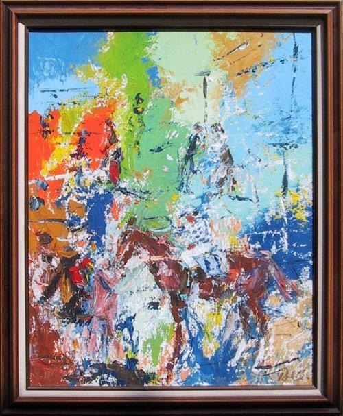 23: Richard Polter, Winner Circle, Painting
