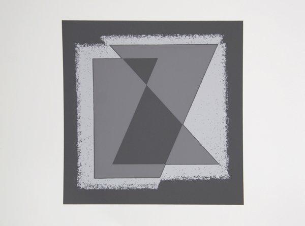 1003: Josef Albers, Op-Art Silkscreen