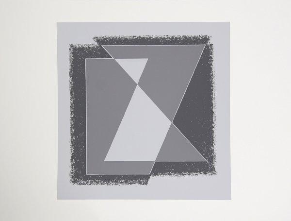 1004: Josef Albers, Op-Art Silkscreen