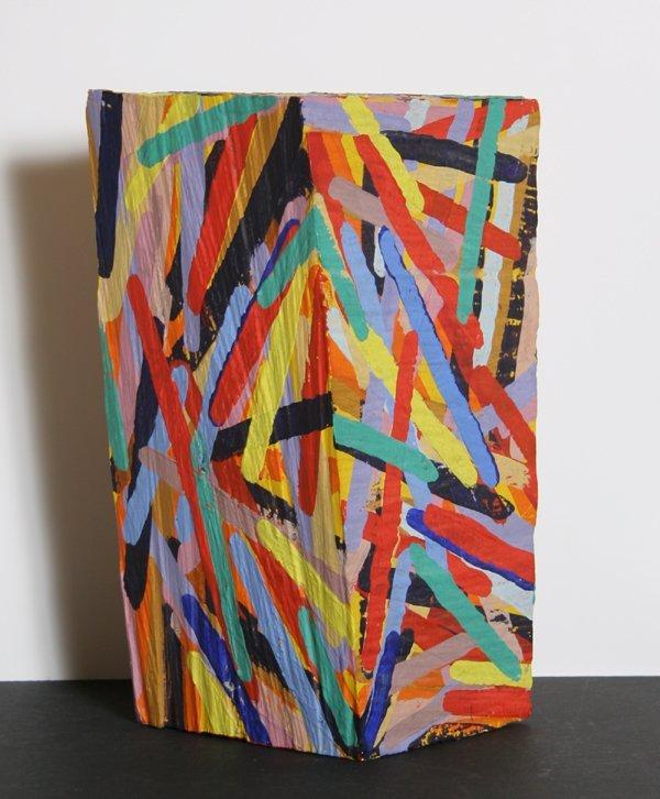 1021: Charles Arnoldi, Painted Wood Sculpture