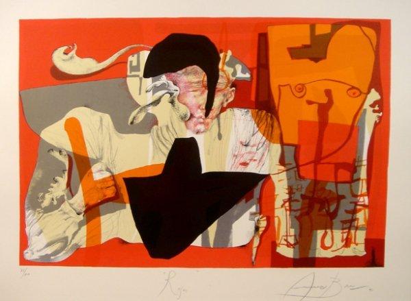 1022: Eduardo Arranz-Bravo, Roger, Lithograph