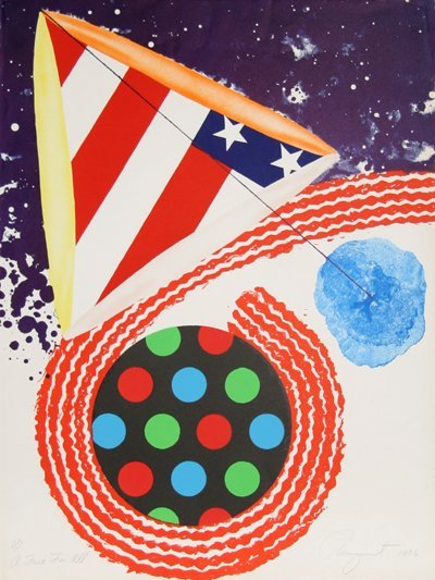 1375: James Rosenquist, A Free for All, Lithograph