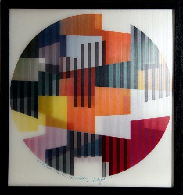 2001: Yaacov Agam, Op-Art Agamograph