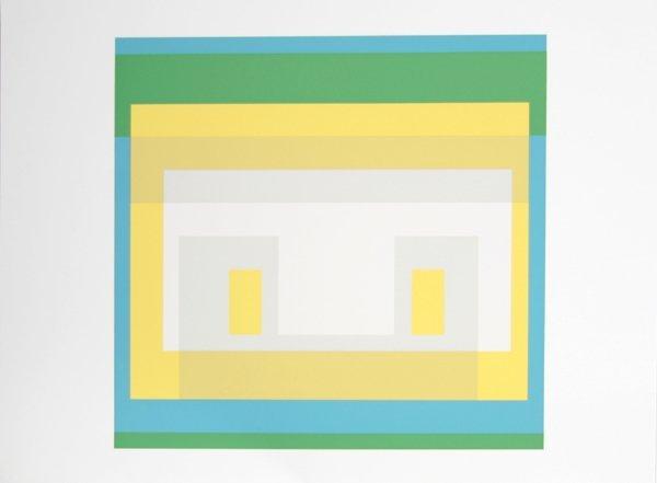 2002: Josef Albers, Op-Art Silkscreen