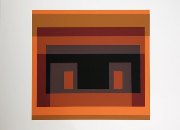 2003: Josef Albers, Op-Art Silkscreen