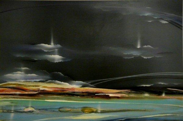 2007: Elba Alvarez, Abstract Venezuelan Painting
