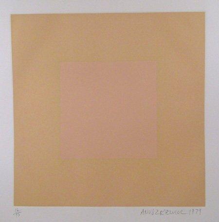 2011: Richard Anuszkiewicz, Op-Art Intaglio Etching