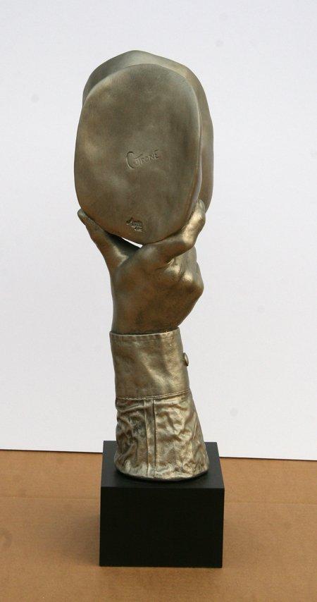 2358: John Cutrone, The Kiss, Sculpture - 5