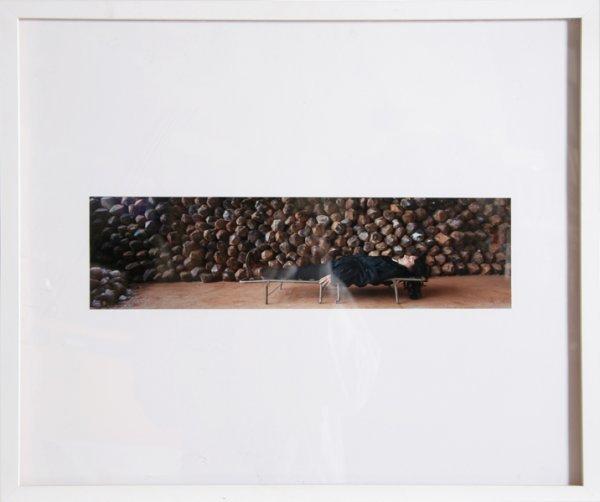 3000: Marina Abramovic, Waiting for an Idea, Photograph