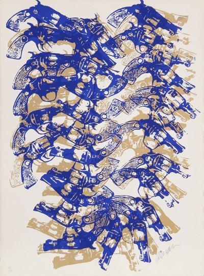 3015: Arman, Western Accumulation, Serigraph
