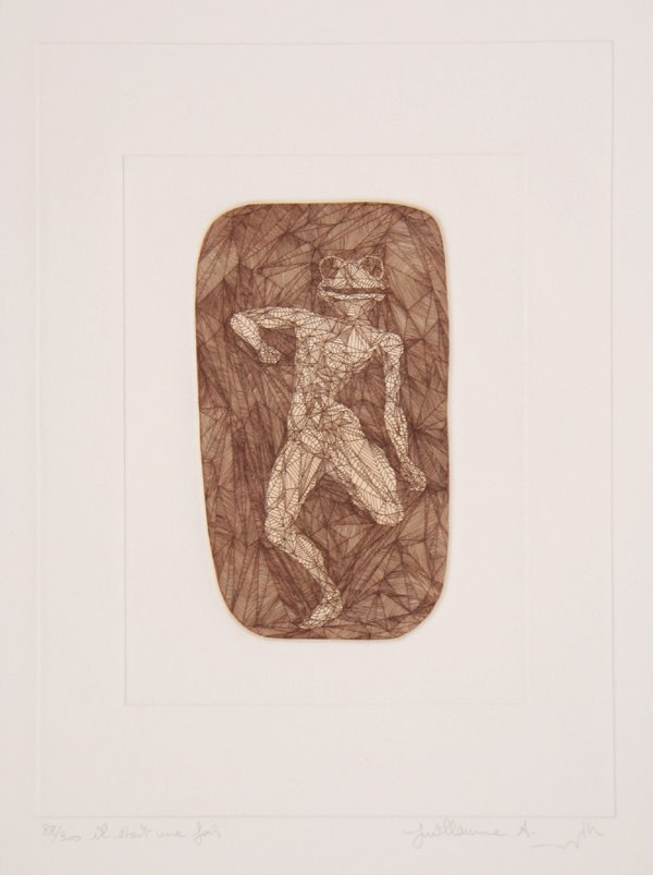 3016: Guillaume Azoulay, Il Etait Une Fois, Etching