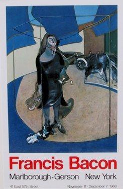 3017: Francis Bacon, Marlborough Exhibition Poster 1968