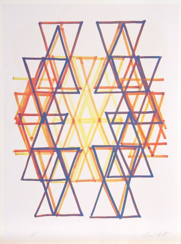 3023: Leo Bates, Gradation IV, Lithograph