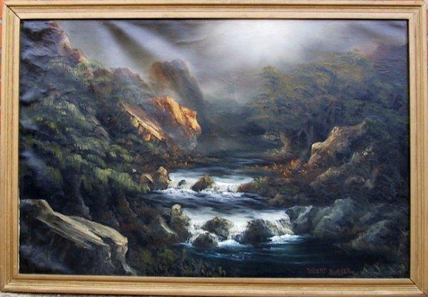 3527: Robert Bloeser, Landscape Painting