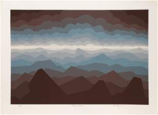 Roy Ahlgren, Polar Sea, Screenprint