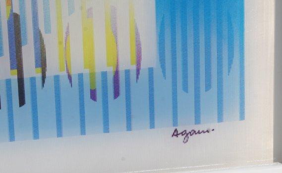1: Yaacov Agam, Genetic Memory, Agamograph - 4