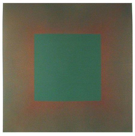10: Richard Anuszkiewicz, Op-Art Intaglio Etching