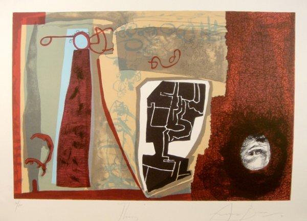 16: Eduardo Arranz-Bravo, Thomas, Lithograph