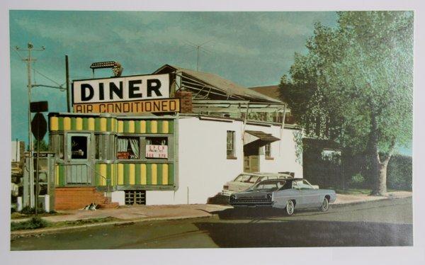 22: John Baeder, Royal Diner, Serigraph