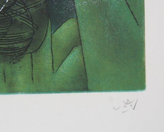 448: Roberto Matta, Pyrocentre, Aquatint Etching - 3