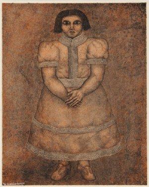 5: Maximino Javier, La Nina, Lithograph