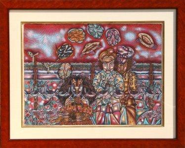 11: J. Benito Zamora, El Llano en Llamar, Acrylic and W