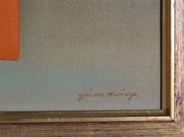 16: Gustavo Montoya, Nino en Amarillo, Painting - 2