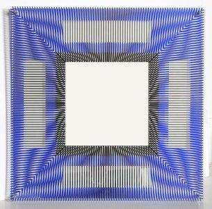 79: Jesus Raphael Soto, Mirroire d'Artiste, Sculpture