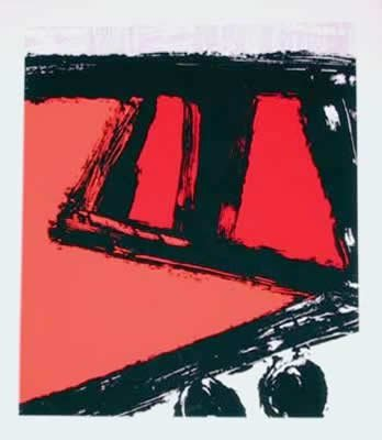 9: Ray Elman, All's Well That Ends Well, Serigraph