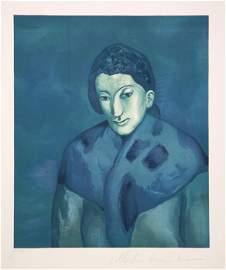 Pablo Picasso, Buste de Femme, Lithograph on Arches