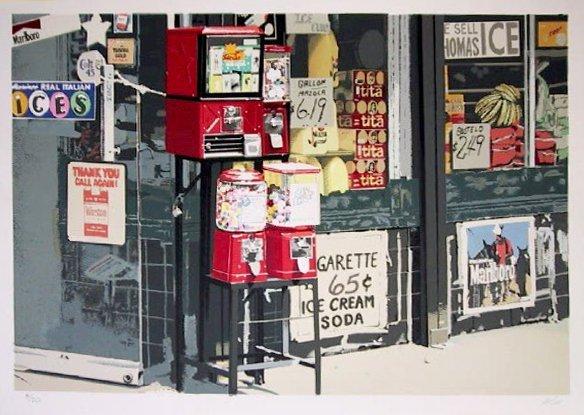 2: Charles Bell, Little Italy, Silkscreen