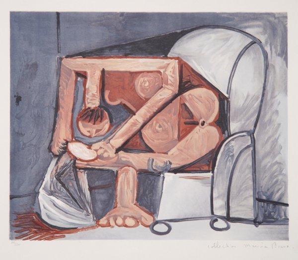 11: Pablo Picasso, Femme A La Toilette, Lithograph